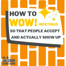 how to hold a good meeting