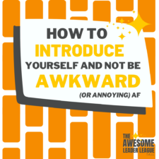 how to introduce yourself training