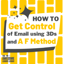 how to manage email training